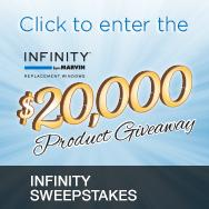 Infinity Promotional Merchandise Sweepstakes Retailer Badge